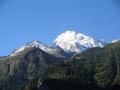 Vue sur le Mont Pourri en été